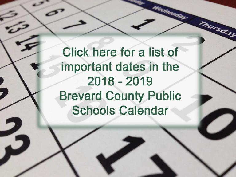 Brevard County Public Schools Calendar