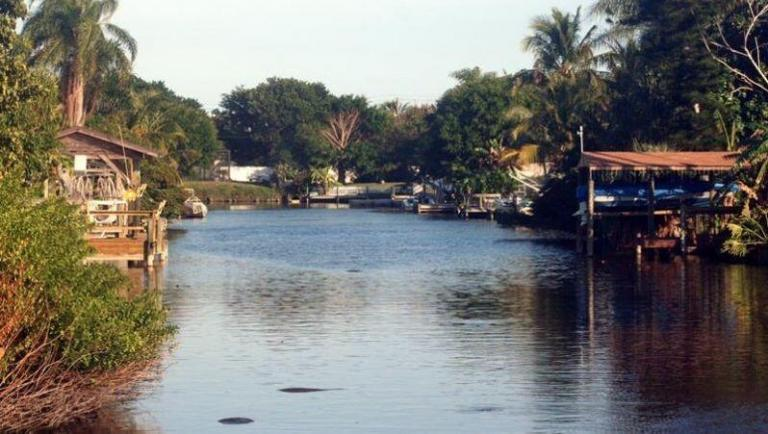 Cocoa Beach Canals