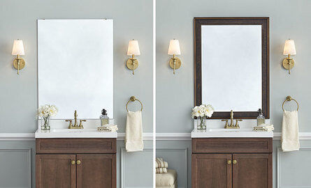 Inexpensive Changes to home simple mirror change