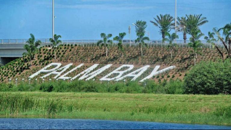 Interstate 95 Palm Bay Sign