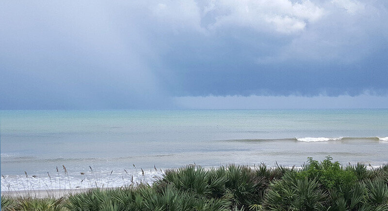 Storm Watch from Your Oceanfront Balcony