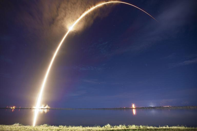 Rocket Launch on the Space Coast